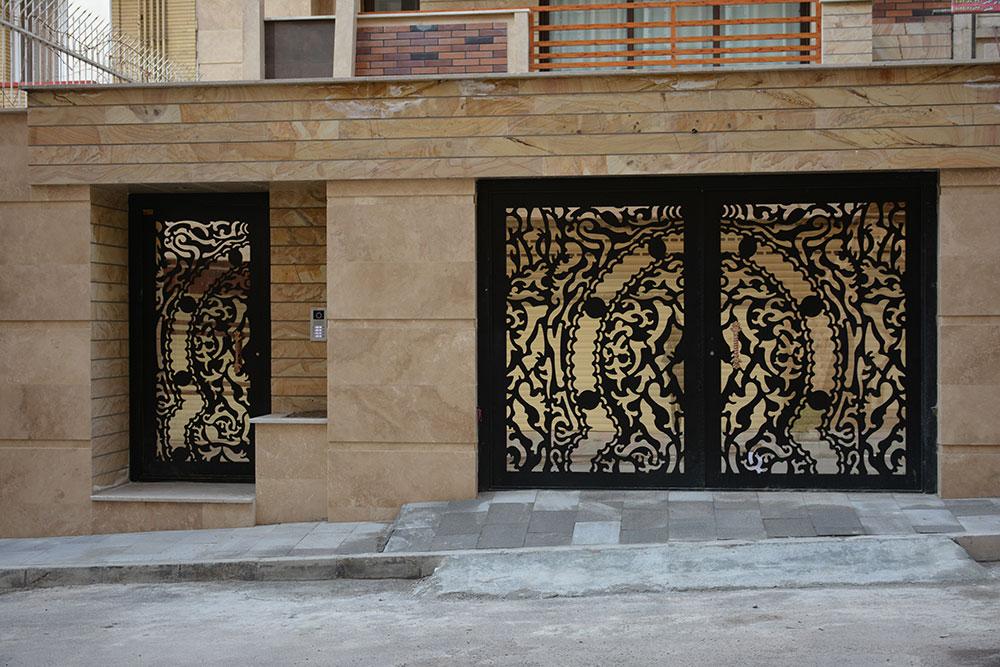 قیمت هر متر ورق فلزی طرح دار پنل درب