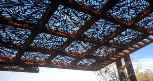 پنل طرح دار لیزری سقف کاذب